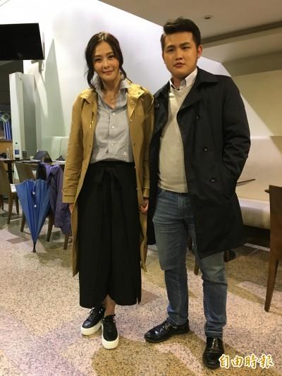(影音)蕭淑慎吃小14歲夫首現身  發福10公斤回擊酸民