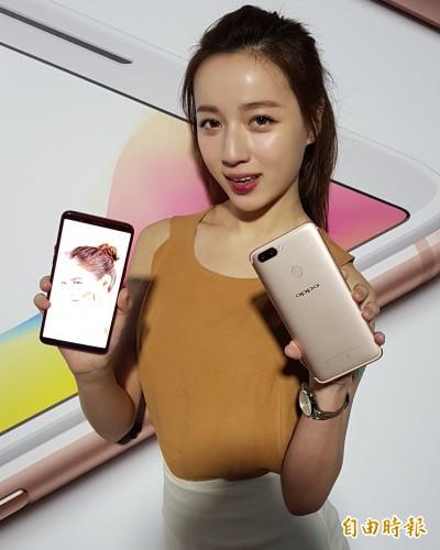 平價版iPhone X來了 OPPO R11s下月登台開賣