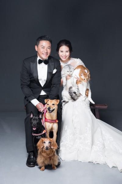 江宏恩與嬌妻婚紗照曝光!已登記正式當人夫