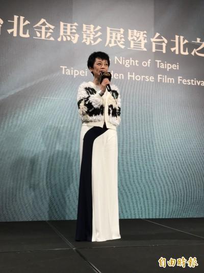 (影音)張艾嘉獲頒騎士勳章 喊話「堅持」發揚電影