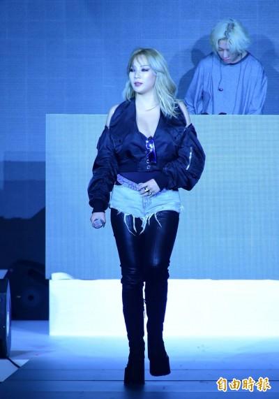 miwa自彈自唱美聲超療癒 CL搖酥胸性感開唱嗨翻天