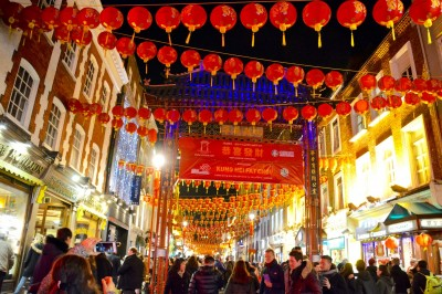 倫敦中國城 新春洋溢節慶氣息