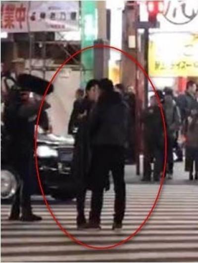 范冰冰日本街頭激吻嫩男 粉絲傻眼:李晨不要看到