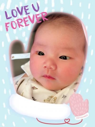 嚴立婷PO愛女滿月照  小產3次得女「這些日子的辛苦都值了」