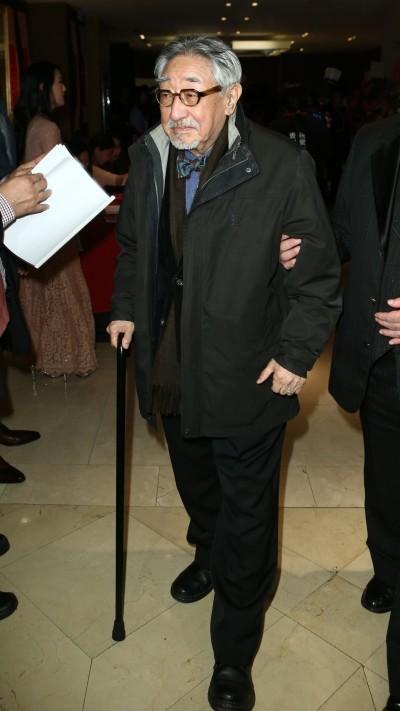 (更新)87歲孫越膽囊結石引感染  住院治療友報平安
