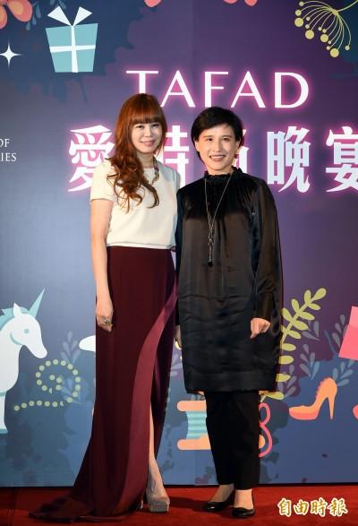 (影音)台灣服飾設計師協會辦秀  文化部長出席力挺台灣時尚