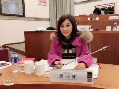 吳淡如淡出電視圈2年    判若兩臉激似陳美鳳楊繡惠