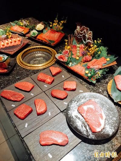 日本和牛一頭燒 一次吃遍十種部位