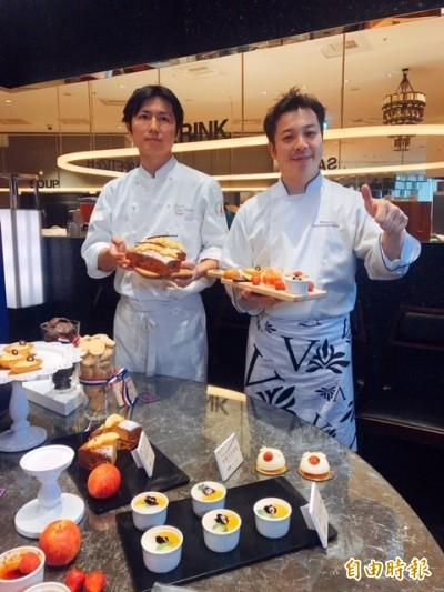 日本甜點名店主廚客座漢來海港 11款甜點開吃