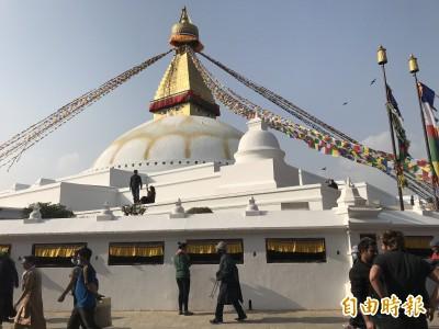 朝聖尼泊爾三大佛塔  繞塔祈福消除煩惱