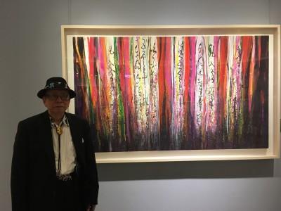 台灣抽象繪畫先驅 國父紀念館辦陳正雄回顧展