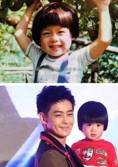 林志穎撞臉2歲小兒 「感覺在抱自己小時候」