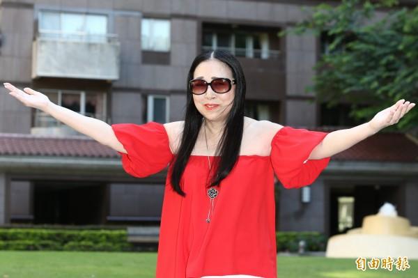 許純美傳有意參選台北市長 稱「有300億不會貪汙」