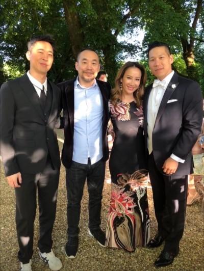 L.A. Boyz法國合體 李玟見證林智文王室風婚禮