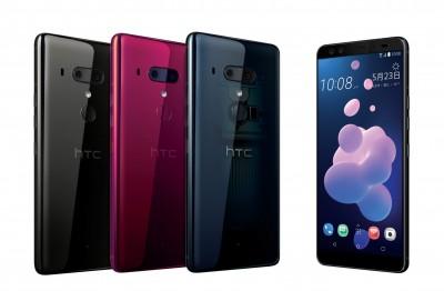 4鏡頭旗艦HTC U12+漲價2.39萬元起跳 7月推五月天版