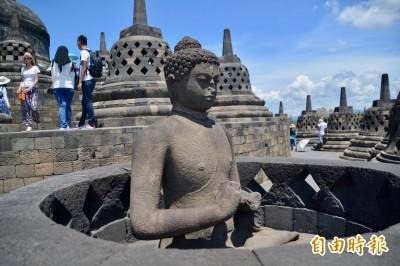 朝聖印尼婆羅浮屠 品味文化遺跡之美