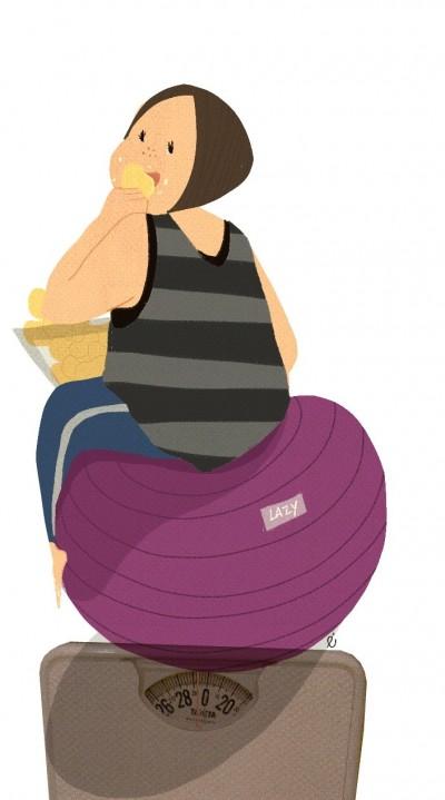老被男友嫌太胖 這樣還要交往下去嗎