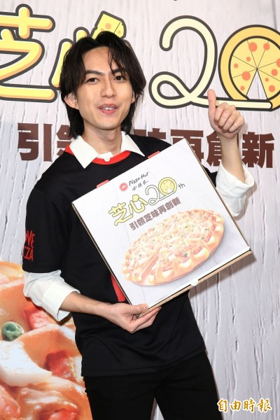 林宥嘉吃披薩賺奶粉錢 老婆誤食塑化劑急產檢