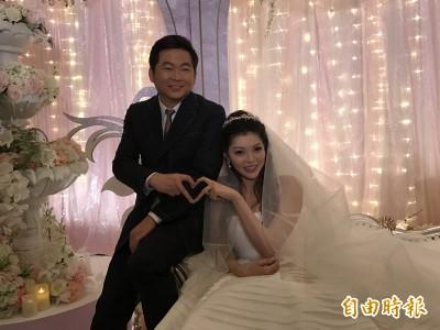 殷琦嫁10億富商「真愛無價」 老公帥成台中金城武