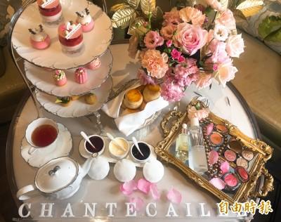 香緹卡20周年攜手文華東方   將五月玫瑰化為IG流甜點