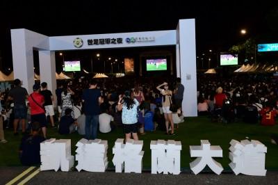 世足冠軍之夜法國人擠爆凱道狂歡  377萬人看破紀錄