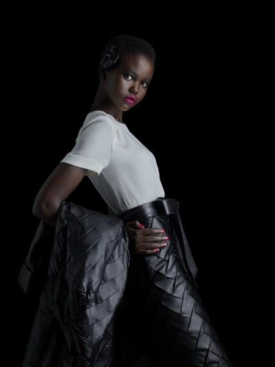 超勵志!南蘇丹難民成名模 時尚老佛爺也愛