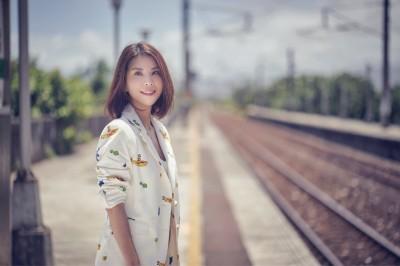 女星戀愛半年嫁歐爸 一句韓文都不會