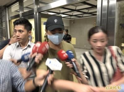 吳宗憲兒警局偵訊1.5hr遭函送 見媒體說了這句話