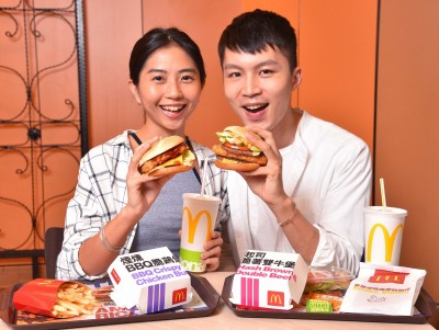 麥當勞這款大份量漢堡 吃過就回不去了!