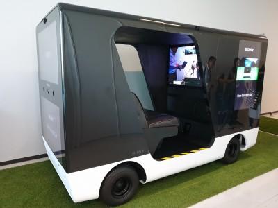 東京直擊 Sony無人車下月日本5G試驗