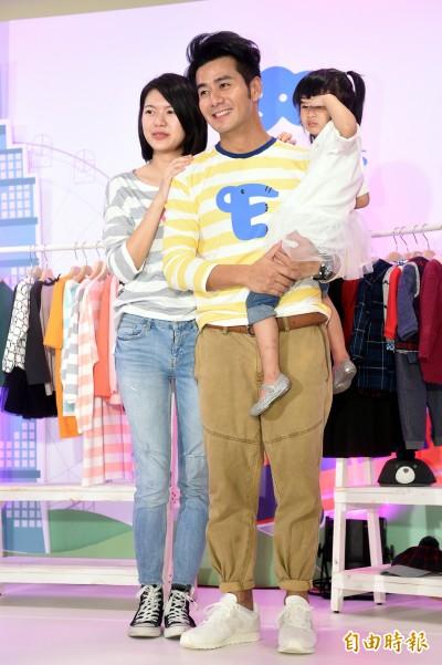(影音)郭彥均老婆變「單親媽媽」 女兒看電視痛哭想爸爸