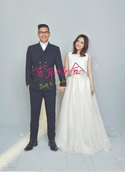 徐佳瑩曬超可愛婚紗照!「百年好合」宣告家宴完成