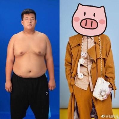 肥宅100天鏟肉50kg 變身男神進軍演藝圈