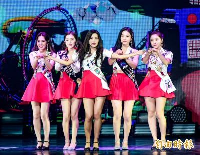 (影音)Red Velvet齊秀養眼美腿 甜讚台粉hen可愛