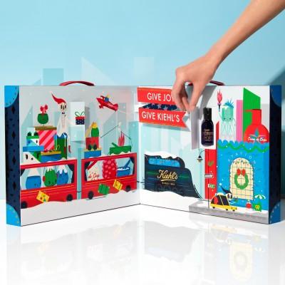 Kiehl's「一卡皮箱」倒數月曆藏驚喜 內含6千元商品現在只要...
