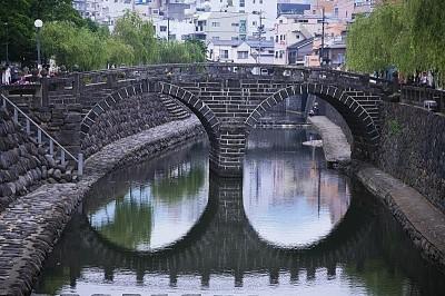 日本長崎風情萬種 「眼鏡橋」超吸睛