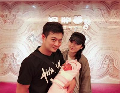 恭喜!林佑星喜迎3328克女兒  炫耀「超給面子」
