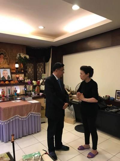 陳水扁北上祭安迪    「有情有義」順口酸黨內同志