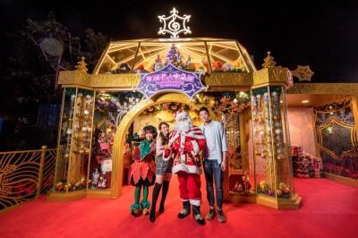耶誕節到來  香港海洋公園帶你體驗港式溫馨耶誕