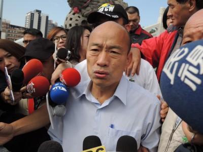 準高雄市長韓國瑜遇對手 遭嗆「比貓狗還不如」
