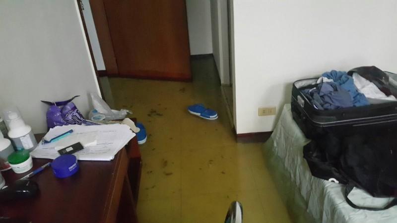 自由娛樂-2016年7月8日-《飛揚》劇組卡在台東 強颱吹破房間狂漏水