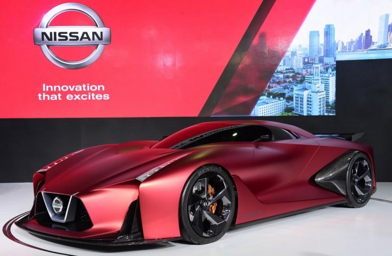 2018世界新車大展必看秀車Nissan 2020 Vision Gran Turismo概念車 - 自由娛樂