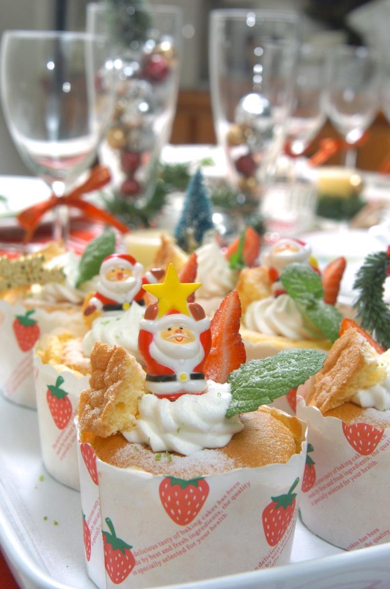 聖誕蛋糕杯