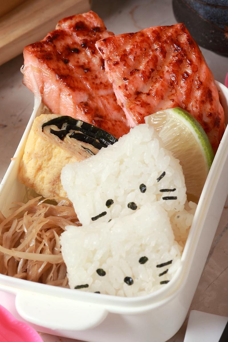 鮭魚味噌燒