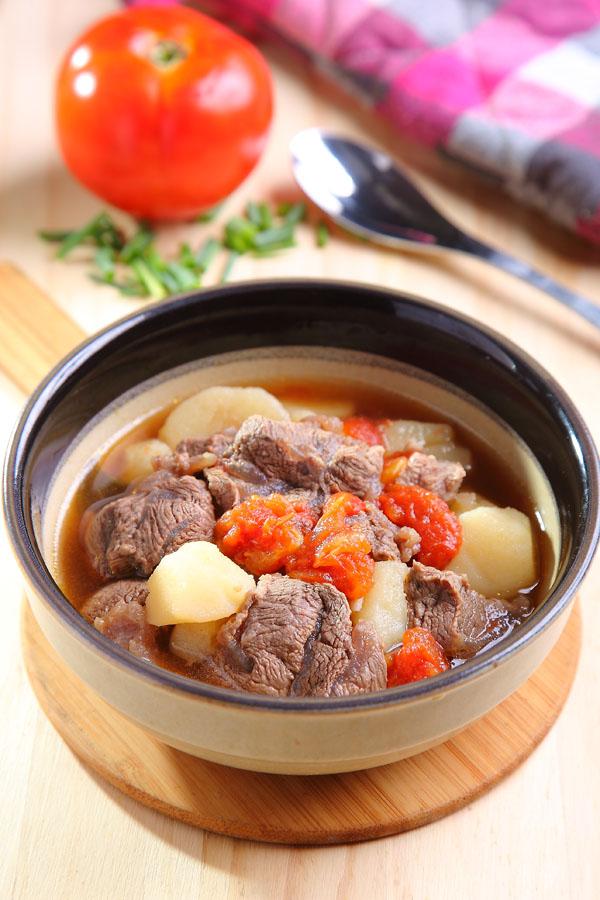 番茄老酒燴牛肉