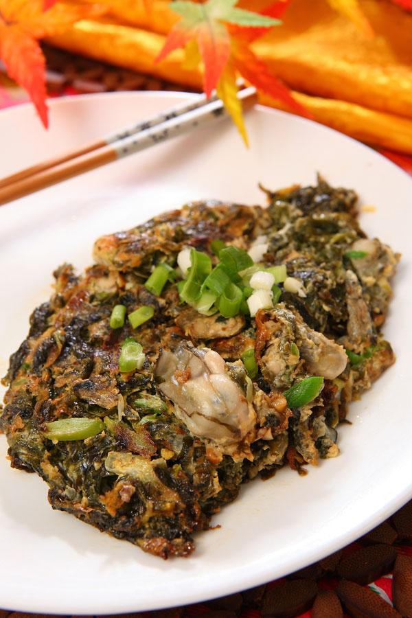 冬至食補 ▪ 牡蠣紫菜煎蛋