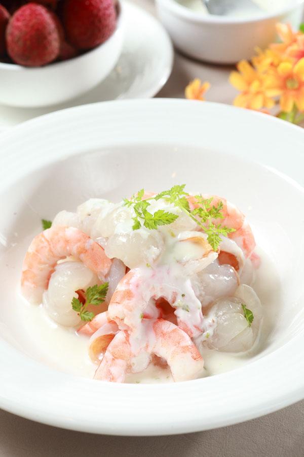 荔香優格鮮蝦