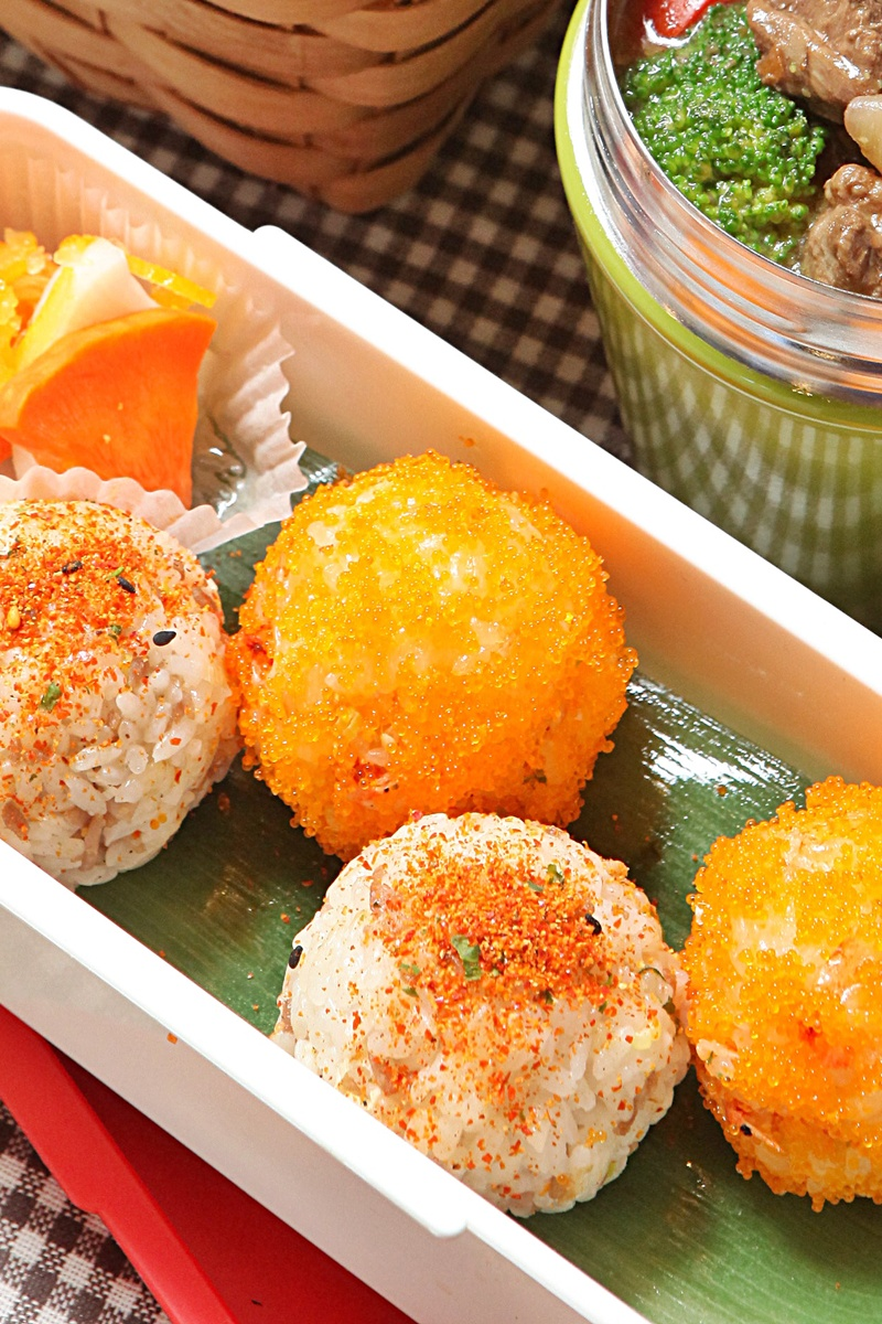 櫻花蝦飯球
