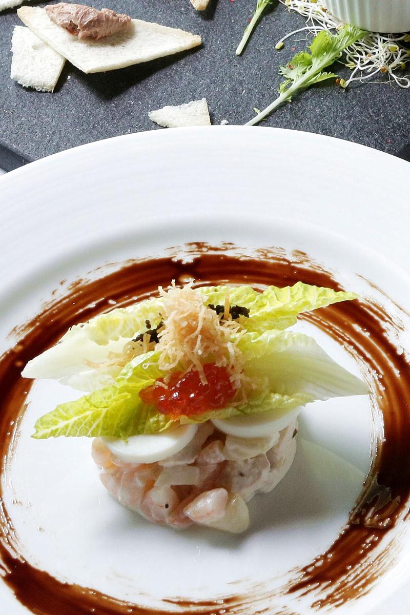 奧利維爾鮮蝦雞肉洋芋沙拉