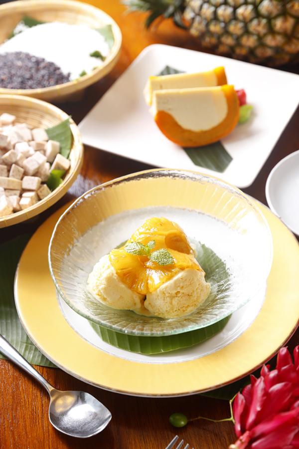 晶黃鳳梨冰淇淋